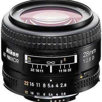 Rent Nikon AF NIKKOR 28mm f/2.8D