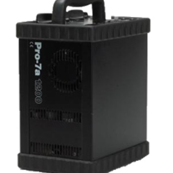 Rent Pro 7A 1200ws Pack Two Head Strobe Lighting Kit
