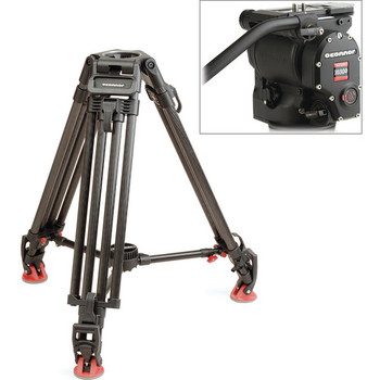 Rent O'Connor  Ultimate 1030Ds Fluid Head and 30L Carbon Fiber Legs Tripod System