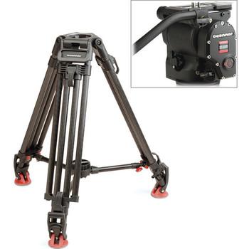 Rent O'Connor 1030DS Tripod w/ O'connor 30L Carbon Fiber Legs