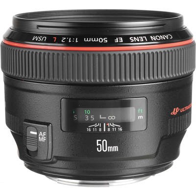 Canon 1257b002aa normal ef 50mm f 1 2l 457680