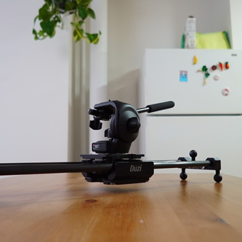 Rent Cinevate Duzi Compact Slider with Manfrotto 128RC Fluid Head