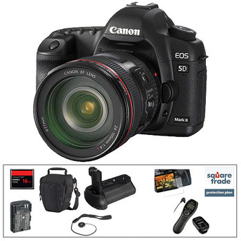 Rent Canon Canon EOS 5D Mark II Kit with Lenses