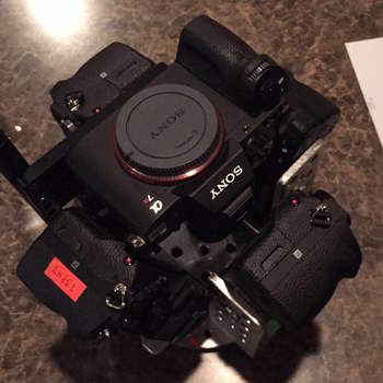 Rent Sony A7Rii 6 Camera 360 Rig