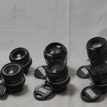 Rent Nikon Ai-s Len Set