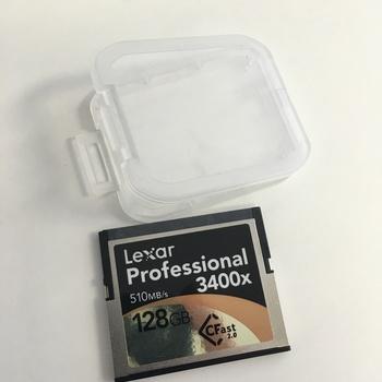 Rent Lexar CFast 2.0 3400x 128gig Card