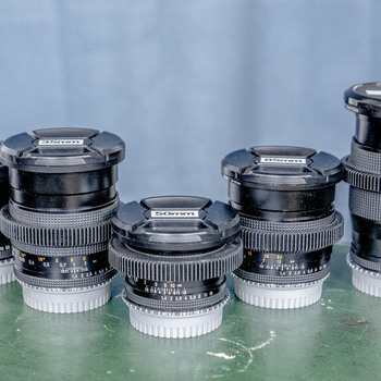 Rent Zeiss Contax Prime Kit