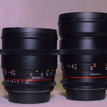 Rent Rokinon 24, 35, 50, 85mm T1.5 Cine DS Lens Bundle for Canon EF Mount