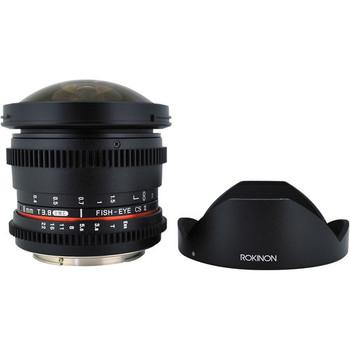 Rent Rokinon Cine 8mm T3.8 Fisheye (EF Mount, APS-C)