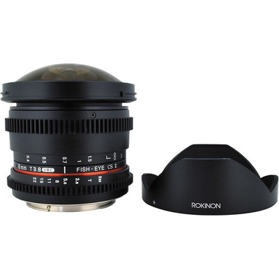 Rokinon cine 8mm t3.8 fisheye