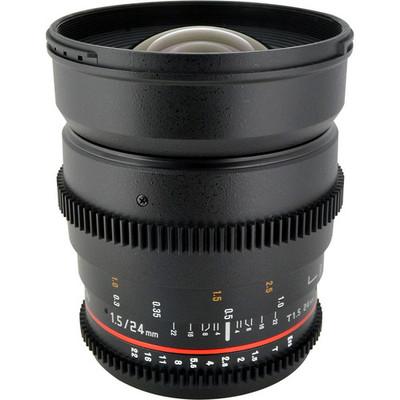 Rokinon 24mm t1.5 cine ed as