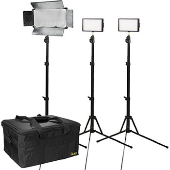 Rent ikan ikan 3 Light Dual Color Interview Kit