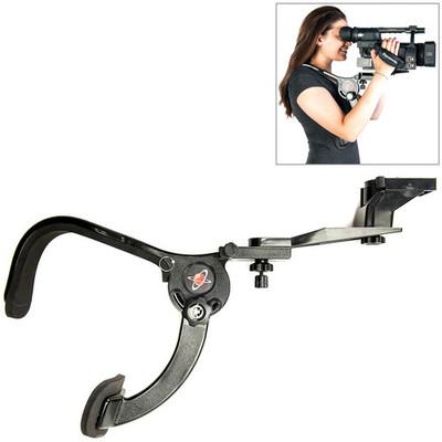 Digital juice shoulder mount stabilizer