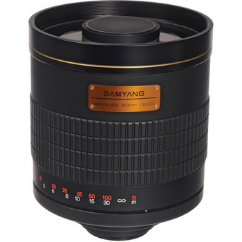Rent Samyang 800mm f/8.0 Telephoto Mirror Lens