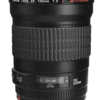 Rent Canon EF 135 f/2.0 L