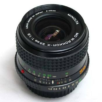 Rent Minolta Prime lenses for Sony A7S II 35mm F 1.8 and 50mm F 1.4