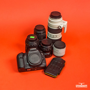 Rent Canon 5D Mark iii photographer Kit with lenses