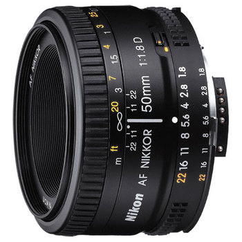 Rent Nikon 50mm Prime Lens