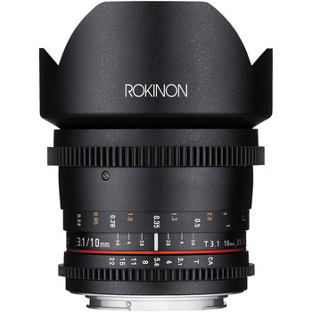 Rent Rokinon Cine DS 10mm T3.1 (EF Mount, APS-C)