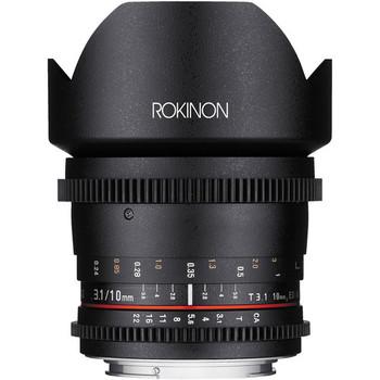 Rent Rokinon Cine DS 10mm T3.1 (EF Mount, APS-C)