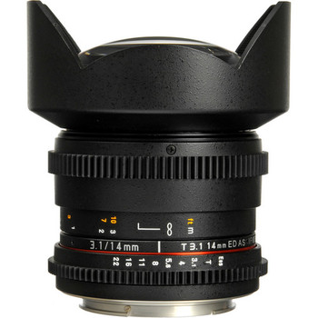 Rent Rokinon Cine DS 14mm T3.1 (EF Mount)
