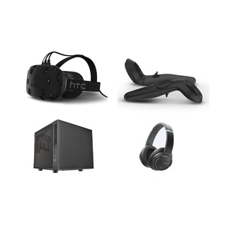 Rent HTC Vive VR Package w/Gaming PC and Headphones