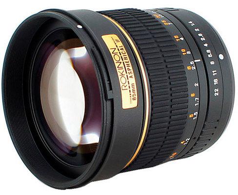 Rokinon 85mm f1.4 2
