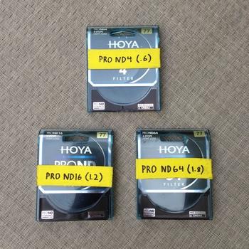 Rent Hoya 77mm ProND Filter Set (.6, 1.2, 1.8)