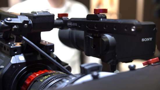 Fs7 vocas viewfinder bracket