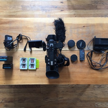 Rent Sony PXW FS5 4K Kit Raw Enabled w/ Metabones Speedbooster & Canon 24-105mm f/4.0 II L lens
