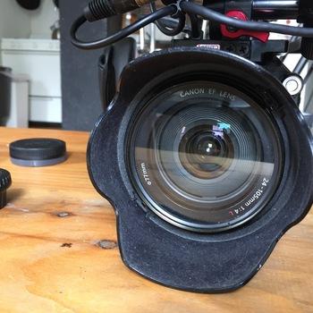 Rent Sony PXW FS5 4K Kit Raw Enabled w/ Metabones Speedbooster & Canon 24-105mm f/4.0 II L lens