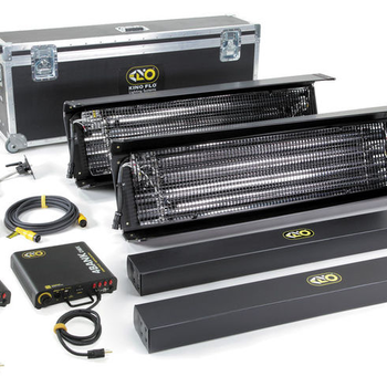 Rent Kino Flo 4x4 system kit with travel case