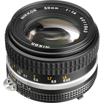 Rent Nikon 50mm f/1.4