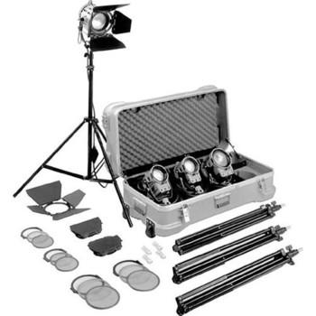 Rent (4) Arri Tungsten Fresnel 300W/650W Combo kit