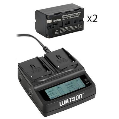 Watson 2x np f770 battery pack 1181939