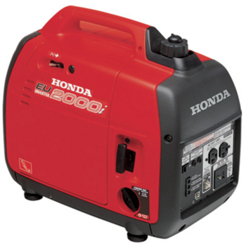 Rent  Honda EU2000is 2000 Watts Quiet Generator