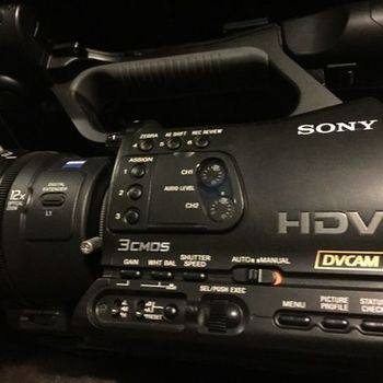 Rent Sony Z7u HDV Camera Package