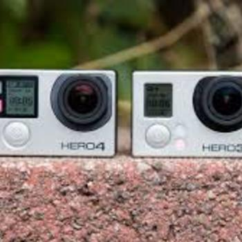 Rent GoPro Hero 3 & 4 (w/mounting kit)
