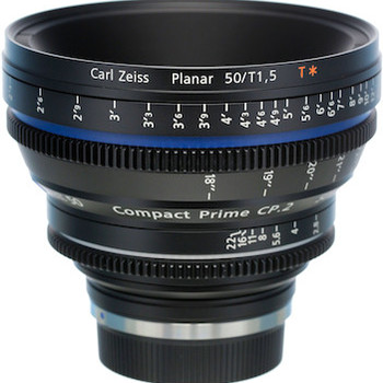 Rent Zeiss Compact Prime CP.2 t1.5/50mm Super Speed (EF Mount)