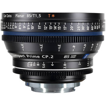 Rent Zeiss Compact Prime CP.2 t1.5/85mm Super Speed (EF Mount)