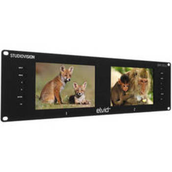Rent Marshall Rack Mounted 7 inch HD-SDI preview monitors