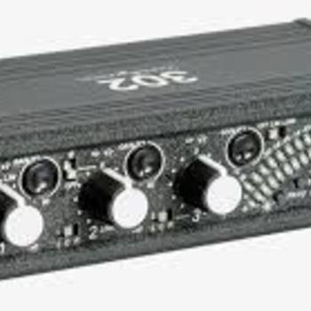Rent Sound Devices 302 3 Ch mixer