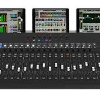 Rent Mackie audio consoles