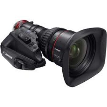 Rent Canon Cine Servo 4K Zoom 17-120mm f2.95 (Avail in PL, EF or E mount)