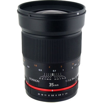 Rent Rokinon Wide‑Angle Lens for Canon EF ‑ 35mm ‑ F/1.4