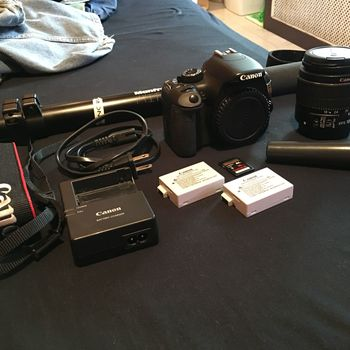 Rent Canon EOS Rebel T2i 18.0 MP Digital SLR Camera Kit