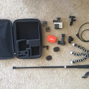 Rent GoPro Hero3+ Kit
