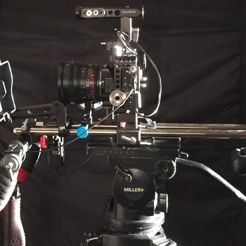 Rent Sony A7s II - Pro Production Package, Rokinon Primes, Gold Mount Batts, Miller 3Pod, Shoulder Mount, etc