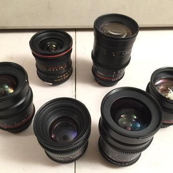 Rent Rokinon Cine (6) Lens  Prime Set (20,24,35,50,85,135)