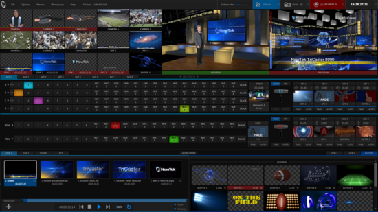 Newtek tricaster 8000 v2 ui   revised